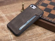 Welcome to the shop. The product is 100% Genuine Leather. The color of the product is brown. Handmade phone case is made of premium quality genuine leather. This wallet case fit for iPhone 7/8 and iPhone 7/8 Plus 2 credit card pockets Extremely lightweight. Will be more smooth and shiny as Iphone Leather Case, Iphone Wallet Case, Iphone 7 Plus Cases, Card Wallet, Phone Case, Handmade Leather Wallet, Smooth, Pockets, Brown