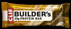 If you want a clean, healthy pre made protein bar, Clif Builders bars are it!