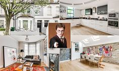 Bet HE didn't sleep under the stairs! Childhood home of Harry Potter star Daniel Radcliffe goes on sale for £1.45million