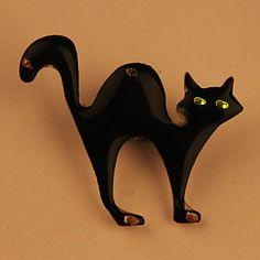 de dibujos animados dirigido intermitente tarjeta magnética (gato sorprendente) – EUR € 1.65