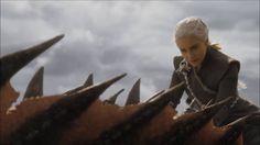 Daenerys Targaryen the Dragon Rider - Lannister Battle Dragon Scenes - Season 7x04 - YouTube