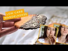 Feine Low Carb Mandelkekse mit Produkten, die du in jedem Supermarkt findest. Ein Low Carb Keksrezept ohne Spezialzutaten (glutenfrei).