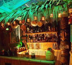 Home Tiki bar