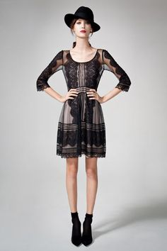 Alice by Temperley Pre-Fall 2012 // black lace