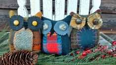 Primitive Pillows, Bowl Fillers, Straw Bag, Create