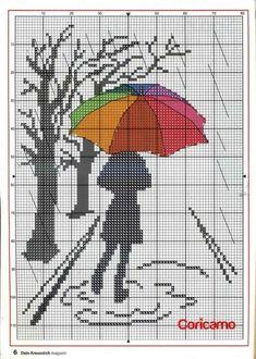 The thread - needle: Cross Stitch Cross Stitch Bookmarks, Cross Stitch Art, Beaded Cross Stitch, Cross Stitching, Cross Stitch Embroidery, Hand Embroidery, Funny Cross Stitch Patterns, Cross Stitch Designs, Cross Stitch Silhouette