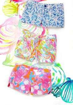 Lilly Pulitzer Summer Short Collection- all different lengths, prints & colors