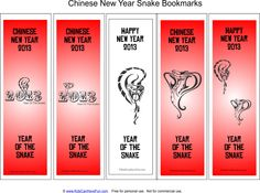 chinese-year-of-the-snake-bookmarks.png (774×574)