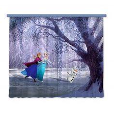 Jégvarázs, Frozen gyerek függöny, sötétítő (280 x 245 cm)
