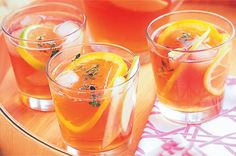 Iced Apple & Citrus Tea