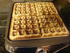 grain free, high protein waffles