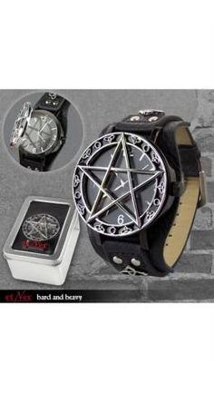 Et Nox Mens Pentacle Time Watch