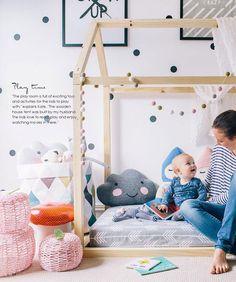 Una casa escandinava pensada para los peques del hogar