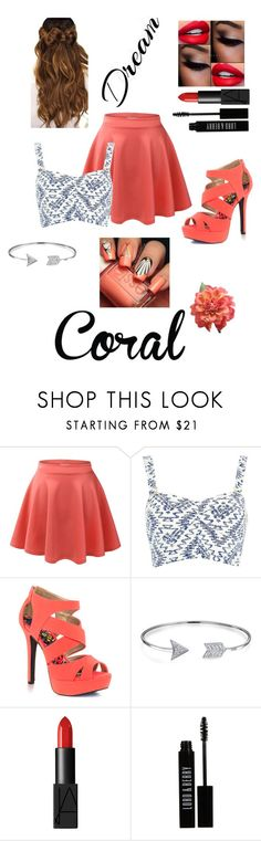 """""""Coral"""" by samy-101 ❤ liked on Polyvore featuring interior, interiors, interior design, home, home decor, interior decorating, LE3NO, River Island, Qupid and Bling Jewelry"""
