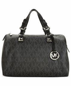 6331231208a MICHAEL Michael Kors Grayson Large Satchel   Reviews - Handbags    Accessories - Macy s
