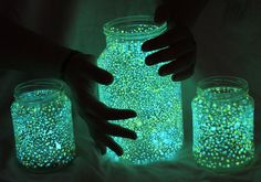 Tutorial: Create Glow in the Dark Mason Jars for Your Next DIY Photo Experiment