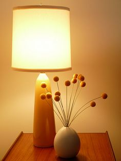 """I think I would like these on my desk.  At work and at home :)  DIY Felted Wool """"Billy Buttons"""""""