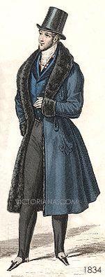 Moda en Francia 1830