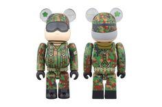 Medicom Toy 100% JGSDF Bearbrick
