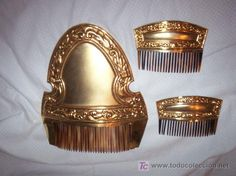 Antigua peineta valenciana Traje regional (Antigüedades - Moda - Complementos - Mujer - Peinetas Antiguas)