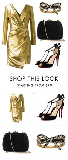 """""""Untitled #4"""" by fejsa ❤ liked on Polyvore featuring Yves Saint Laurent, Christian Louboutin, Serpui and Marc Jacobs"""