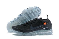 size 40 0b9ce e0939 2018 NikeLab OFF-WHITE x Cheap Nike Air VaporMax Black Total Orange Clear -  www.vapormaxplus.org
