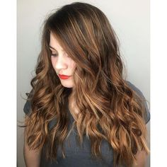 We love this mix of balayage and babylights by stylist Jenna of RedBloom Salon. The face-framing highlights pops of brightness give hair texture and dimension, and are perfect for a spring or summer hair makeover. Hair Color Purple, Hair Color For Black Hair, Blonde Color, Hair Colors, Aveda Hair, Aveda Makeup, Balayage Hair Rose, Hair Painting, Hair Videos
