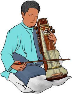 sarangi : Indian instrument.
