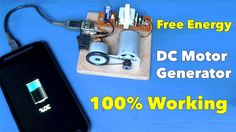 Self Running DC Motor Generator (Mobile Charger)