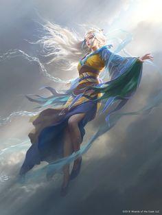 ArtStation - Mu Yanling, Skydancer, G-host Lee Beautiful Fantasy Art, Dark Fantasy Art, Fantasy Girl, Fantasy Artwork, Dnd Characters, Fantasy Characters, Female Characters, Fantasy Character Design, Character Design Inspiration