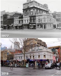 S-W corner of Swanston and Lt Lonsdale Sts Places In Melbourne, Melbourne Suburbs, Amazing Pictures, Old Pictures, Old Photos, Melbourne Victoria, Victoria Australia, Melbourne Australia, Brisbane