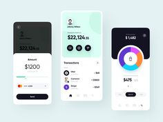 Fastpay app: exploration by Vadim Drut for heartbeat on Dribbble