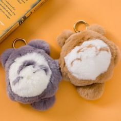 17.80$  Buy now - http://ali232.shopchina.info/go.php?t=32803668766 - 18cm High Quality Totoro Plush Toy Mini Totoro Small Pendant Bag Decoration Doll Car Rabbit Fur KeyChain Gift For Girlfriend  #shopstyle