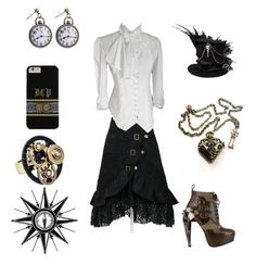 """""""Steampunk"""" by the-anime-nerd on Polyvore featuring HADES"""