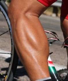 oh you- muscly cyclist calf. i do like