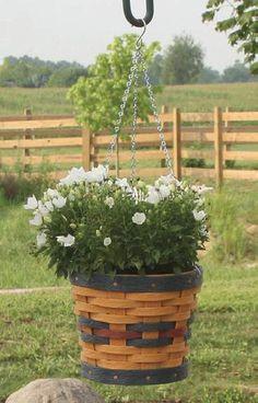 10 Round Hanging Basket