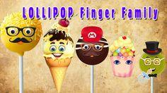 3d Ice cream Finger Family Nursery clhildren rhymes | Finger family song...