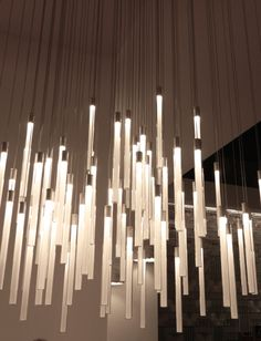 Fabbian suspended pendants | LED Corner House, Home Projects, Milan, Chandelier, Pendants, Curtains, Led, Lighting, Home Decor