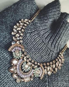 Vintage Treasure Statement Necklace - #fashion #style #photooftheday #glam #lookoftheday #ootd #fashionista #statementnecklace - 24,90€ @happinessboutique.com