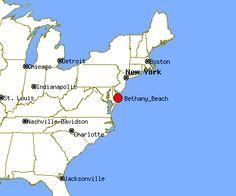 Bethany Beach Delaware Profile De Potion Crime Map