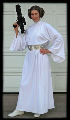 Princess Leia dress pattern - pretty easy.