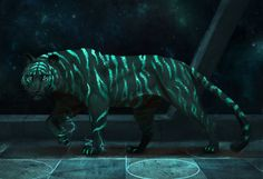 Tiger Space by JadeMere.deviantart.com on @DeviantArt