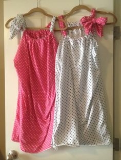 There's a lot of patterns for pillowcase dresses and nightgowns going around.  Most seem to not use a pillowcase though!  I asked my sew...