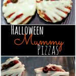 Kids parties are popular around Halloween, and what better snack for all the little goblins and ghosties than Yummy Mummy Pizzas?