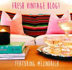 New! We will be regularly featuring guest bloggers on our website! Check out freshvintageiowa.com and instagrammer @ejindrich!