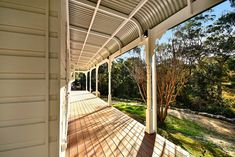 Restoring this magnificent heritage building at Baptist Redeemer School to it's former glory was helped by using Intrim's custom mouldings to achieve its original charm. Intrim supplied the following: External Cladding (weatherboards), Custom Eave linings and scotia, Turned Verandah Posts to match existing, Bull nose rafters, Verandah Brackets, Ovolo 70mm, Skirting around Door SK85 #mouldings External Cladding, Exterior Trim, Restoration, Sweet Home, Dads, Posts, The Originals, School, Building