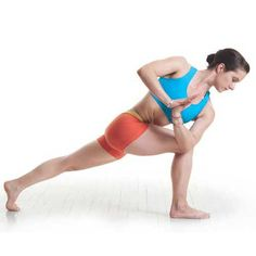 Lunge Twist: This powerful and restorative yoga move can help you beat the hangover blues.