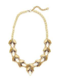 Jackson Hole Bib Necklace by Suzanna Dai at Gilt
