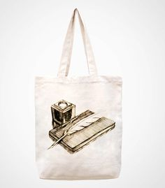 Vintage bookhandmade bag/canvas bag/tote bag/canvas by canvasanni, $11.90