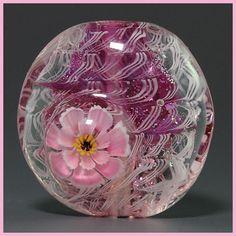Ikuyoglassart Handmade Lampwork Flower Focal Bead SRA | eBay